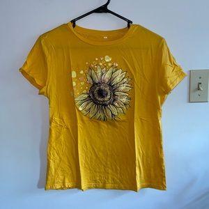 Sunflower Graphic Tshirt